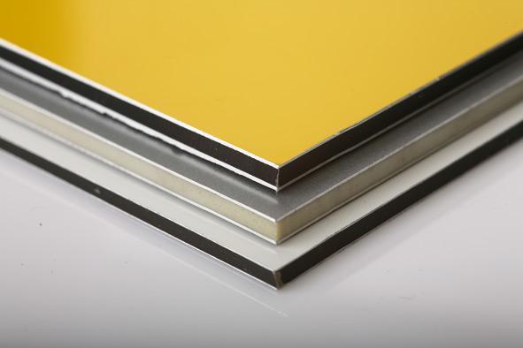 Что такое алюминиевые композитные панели