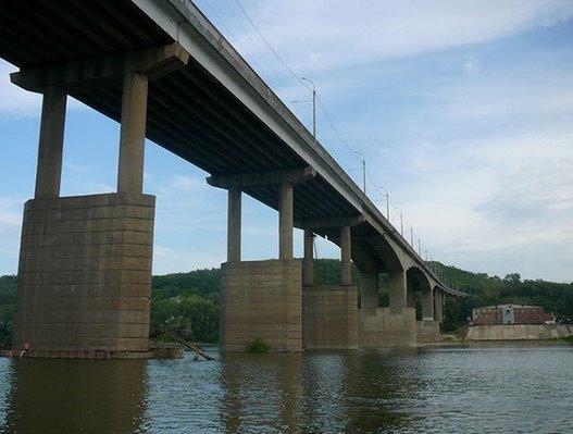 Затонский мост в Уфе